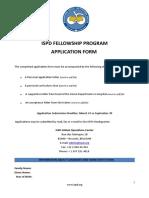 ISPD Fellowship Application Form