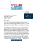 Joel Pollak's Letter to the FAA on O'Hare Expansion