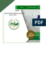 Edital Verticalizado DPE PE Defensor