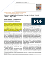 4-Recommending Medical Expulsive Therapy for Distal Ureteric Calculi