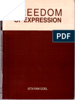 Freedom of Expression by Sita Ram Goel