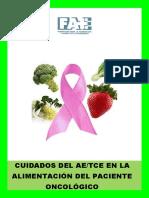 El Tce-Ae y La Alimentacion Del Paciente Oncologico 2012