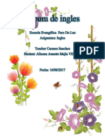 Álbum de Ingles