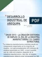 Desarrollo industrial arequipa