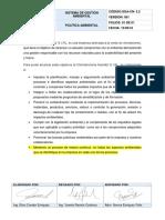 5.2.POLÍTICA AMBIENTAL (1)