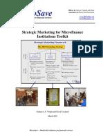 Strategic Marketing for MFIs Toolkit[1]
