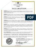 2017 Domestic Violence Awareness Month