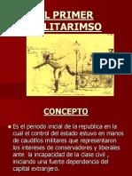 964el Primer Militarismo(1828-1872)