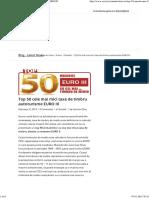 Top 50 Cele Mai Mici Taxe de Timbru Autoturisme EURO III