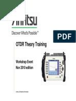 Otdr Theory Workshop
