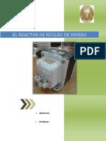 1.1El Reactor Con Nucleo de Hierro Docx