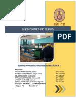 Informe Mediciones de Flujo F2