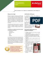 Fascículo RIMAC Bloqueo de Energía y Señalización