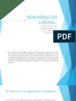 REMUNERACION LABORAL