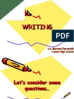 WRITING M Ferrarelli