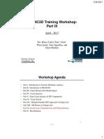 FRANC3D V7 Training - Part 9 - Session Log
