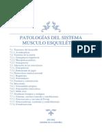 Patologías Del Sistema Musculo Esquelético