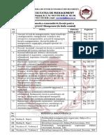 Tematica Examen Licenta MAN Romana