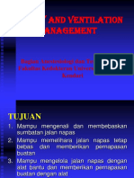Airway and Ventilation Management