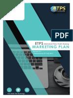 Latest Etps Marketing Plan