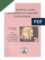 Dr. Ion MAFTEI - Atlas de Tehnici Uzuale de Anestezie Loco-regională În Stomatologie