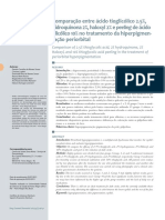 v5 Comparacao Entre Acido Tioglicolico 2 5 Hidroquinona 2 Haloxyl 2 e Peeling de Acido Glicolico 10 No Tratamento Da Hiperpigmentacao Periorbital