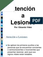 Primeros Aux. LESIONES Resumen Excel