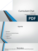 curriculum chat october 3