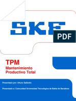 8. El TPM en La Planta de SKF Guadalajara