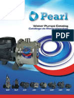 Catalogo de electrobombas marca Pearl