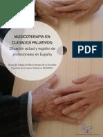 Grupo de Trabajo de Musicoterapia de La Sociedad Española de Cuidados Paliativos (MUSPAL)