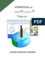 Matematicas Con Word y Excel Office 2007