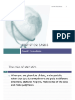 Statistics Basics