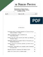 Revista de Derecho Procesal de Chile 1974 Pag 0 a 16