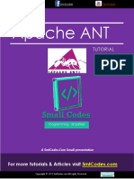 Apache Ant Tutorial PDF