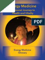 Energy Medicine Glossary