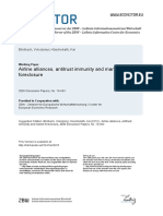 Airline Alliances, Antitrust Immunity and Market