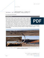 What is GeoMetallurgy v2