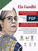 Ela-Gandhi en Chile
