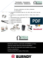 Promociones BURNDY - Omega Power