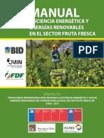 MANUAL EFICIENCIA ENERGÉTICA Y ENERGÍAS RENOVABLES EN EL SECTOR FRUTA FRESCA