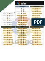 Calendario La Liga año 2016-2017