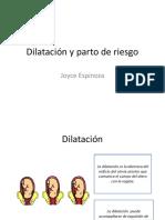 Dilatación y Parto de Riesgo