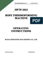 HFTF-2023 Operation Manual Modificado