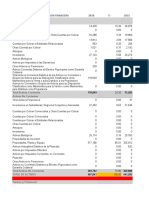 Estado de Siituacion Financiera Cerveceria -Dama