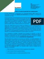 CONVOCATORIA ASISTENTE DE CONSERVACIÓN Programa WWF Holanda en Cuba -