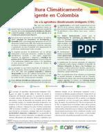 Agricultura Climáticamente Inteligente en Colombia