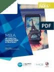 Mba Digital Marketing Strategy