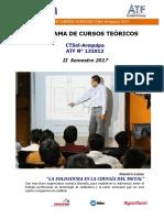 Arequipa Teoricos 2 Semestre 2017