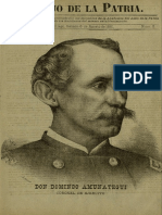 Periódico El hijo de la Patria. N° 5, Sábado 06.Ago.1881